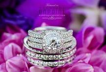 Diamonds are a girl's bestfriend / by Weddings OnPoint