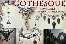 Vampires / Vampish jewellery and accessories - all available on www.pandorasbox.net.au