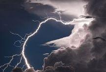 Cloudy skies, stormy days