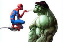 Superheroes / by Albert Sellas