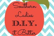 Southern Ladies DIY it Better: Share Your Projects! / Group Board for DIY and Craft Ideas, Southern or not. Southern ladies are take charge and innovative. If we want it done right, bless your hearts, we'll do it ourselves. Comment to request to be added. Please no spam. / by Belle and Beau Antiquarian
