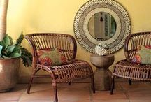 woven and wicker