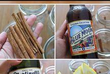Recipes, drinks