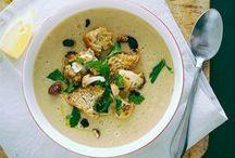 Soups (Yum!) / My favorite, year round!