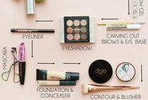makeup tutorials / step-by-step tutorials and makeup inspirations