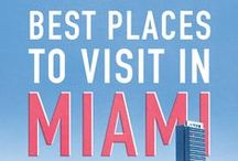 travel to miami / shopping, sightseeing and eating out in miami...!
