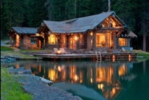 Log cabins / by Tara Langenbrunner