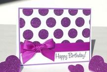 Cards / Cards to inspire multiple events - Birthdays, Thank Yous, Congrats, etc....