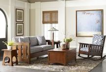 The Mission Home / Mission and craftsman furniture and style by Stickley Furniture