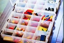 lego organization and building