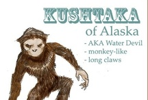 kushtaka / There's a Squatch in Them There Hills