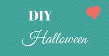 Halloween DIY projects / Halloween is my other favorite holiday and we go all out decorating, mostly outside. I really love to DIY for cheap or nothing because I like to change everything every year. For the most part we are Kids friendly with our decorations, so not to scare the little ones.