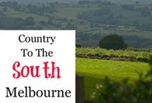 Melbourne - Country - South / Great places to explore south of Melbourne, Australia