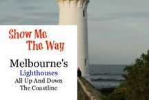 Melbourne - Lighthouses / These lighthouses can be found along the coast east and west of Melbourne, Australia
