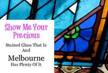 Melbourne - Stained Glass / Examples of beautiful stained glass that can be found in and around Melbourne, Australia. Churches, offices, buildings, malls and arcades. Big and small - examples of artists amazing works of art.