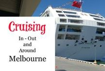 Melbourne - Cruising / Cruising ideas for travel from Port Phillip and Western Port Bays. Cruise on Ocean Liners, Taxi and touring ferries and even a floating tram