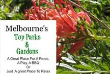 Melbourne - Parks and Gardens / Melbourne is the city of Parks and Gardens. there are also some fantastic ones in the outer regions and suburbs of the city to explore