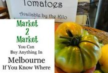 Melbourne - Markets / Food markets, farmers markets, craft markets, in fact any sort of market that can be found in and around Melbourne any day of the week.
