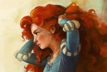 Disney Love <3 / mostly fan art of Disney princesses plus a few other Gems.