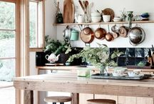 Project: Whittle Kitchen Remodel / Rustic Luxe. White washed & rich wood - an eclectic mix. Classic + contemporary with a hint of retro and tonnes of vintage charm. Heaven.