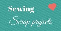 Sewing Scrap projects / I collect fabric scraps, so these are sewing projects to use them all up. If you ever need to get rid of some I will take them off your hands and put them to GREAT use (message me for my address). There may be some affiliate link in this board.