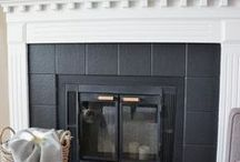 Fireplaces - Before and After / by Mary Lou