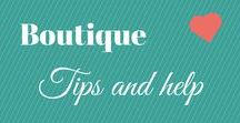 Boutique (small business) Help / I always dreamed of owning my own Boutique shop, so these are just some ideas to keep the dream live. These ideas and tips are for the shop itself and the small business side.