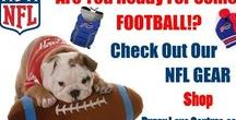 Are You Ready For Some Football?!?!?! / NfL Football Gear For Your Pet