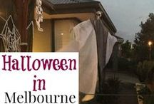 Melbourne - Halloween / Melbourne and the outer suburbs celebrating Halloween.