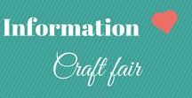 Craft Fair Info / Information about running a Craft Fair