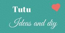Tutu DIY and Ideas / DIY and Tutorials for TUTU of all sizes (child, baby, toddler, Adults). My daughter was obsessed with tutus at a young age but she is not so much any more. I still love to see all the ideas.