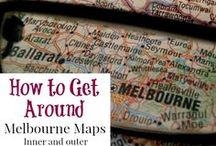 Melbourne - Maps / A selection of new and old Melbourne and surrounds maps