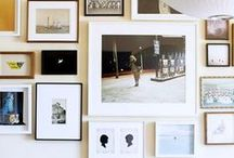 Walls - Gallery Groupings / home decor ideas for gallery wall grouping and photo display