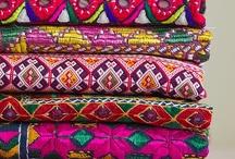 Fabrics / by Rebekah London