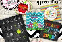 Teacher Appreciation Week Ideas / Great ideas for those fabulous teachers!