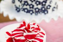 Wedding - Red, White, and Blue / red white and blue color scheme for weddings