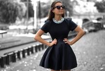 little black dresses. / the most essential wardrobe piece.