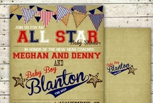 vintage baseball party / by Marcy {simply sprout}