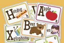 Alphabet and Sounds Ideas / Anything to do with the letters of the alphabet / by Creations by Mrs. Mouse (Melissa Mize)