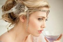 Great Gatsby - Vintage 1920's Looks / The Great Gatsby. Vintage dresses. 1920's dresses. Gatsby inspired. Lace. Pearls. Feathers. Hats. Vintage style. Lace dresses. Art deco. Flapper dress. Carrie Mulligan. Leonardo Di Caprio. Daisy Buchanan.