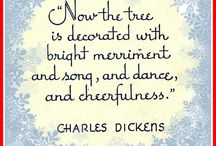 Charles Dickens Christmas / the tastes, songs, clothing, and décor of England's Victorian Christmases in the mid 1800s / by Pinspiration!