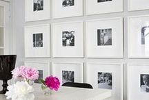 Walls - Gallery Ideas / home decor ideas for gallery walls and family photos