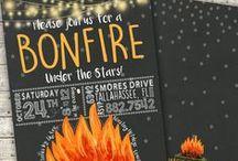 Backyard Bonfire / by simplysprout