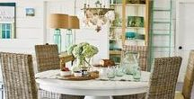 Dining Room Ideas / Inspiring dining room design and decorating ideas.