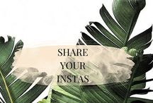 INSTA-RATION // SHARE YOUR INSTAS / A board to help circulate your instagrams across Pinterest. To join follow me and message me or email at emilyybecca@gmail.com with your Pinterest link✨