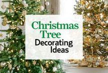 Christmas Tree Ideas / Beautiful Christmas tree decoration ideas.
