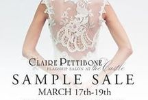 EVENTS Promotions & Sales / Claire Pettibone Couture and Romantique trunk shows, bridal events and promotions.