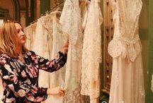 "BEHIND THE SEAMS of Claire Pettibone / ""CLAIRE PETTIBONE BEHIND THE SEAMS"" Backstage and behind the scenes with fashion designer Claire Pettibone and her team http://clairepettibone.com"