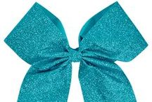 Cheer Bows and Keychains / If you like it, then you should put a bow on it! These are our favorite cheer bow styles.