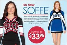 Soffe® Uniforms / We are proud to be a preferred distributor for the brand new line of cheerleading uniforms from Soffe.